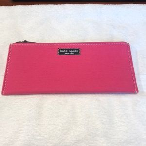 Never Used Kate Spade Vintage Pencil Pouch.